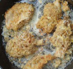 Morels in Cracker Batter Mushroom Recipe from Roger Phillips at Rogersmushrooms.com