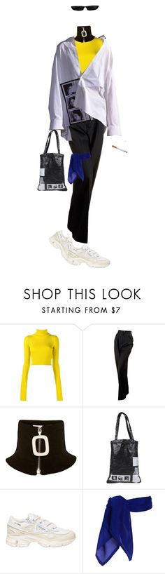 """Untitled #286"" by stonedangel ❤ liked on Polyvore featuring Jacquemus, Chanel, J.W. Anderson and adidas"