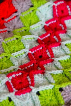 Sarah London oblong wool eater blanket - with step-by-step tutorial