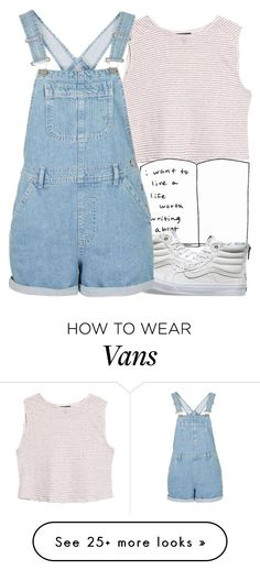 """."" by lanabeann on Polyvore featuring MANGO and Vans"