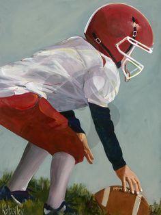 Lil' Football Star 2, Sports Art Prints | Oopsy Daisy