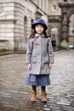 London Fashion Week AW 2011, Junior Street Style ... Yizhen by Vanessa Jackman
