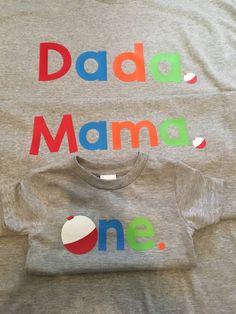 One Shirt One. Family shirts fishing theme by BurnsBeauties