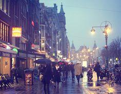 Rainy Night, Amsterdam