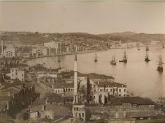 Fındıklı, 1890 Guillaume Berggren fotoğrafı