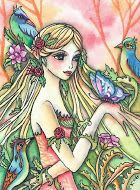 HED 74 - Dryad With Butterfly