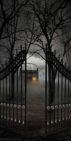 Spooky Places, Haunted Places, Abandoned Places, Haunted Houses, Creepy Houses, Spooky House, Memes Arte, Enchanted Wood, Arte Obscura