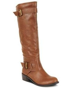 c047d9ad179 Style   Co. Womens Wide Calf Moto Boots