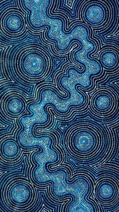 Aboriginal Art by Tammy Matthews Aboriginal Dot Painting, Dot Art Painting, Abstract Art, Aboriginal Patterns, Aboriginal Dreamtime, Textile Patterns, Indigenous Australian Art, Indigenous Art, Aboriginal Art Australian