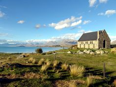 Church of the Good Shepherd, New Zealand. This is so happening ^_^  beautiful.    (( don't know who gets credit for the original, but it's perfection, kudos! ))
