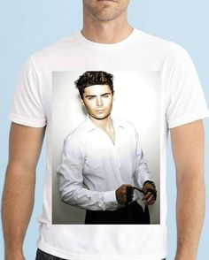 Zac Efron, Actors, Celebrities, Instagram Posts, Clothing, Mens Tops, T Shirt, Products, Fashion