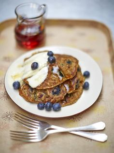 Vegan Blueberry Pancakes | Fruit Recipes | Jamie Oliver