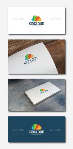 Colorfull Cloud Logo Design Template Vector #logotype Download it here: http://graphicriver.net/item/colorfull-cloud-logo/11934635?s_rank=654?ref=nexion
