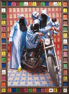 Hassan Hajjaj: 'Kesh Angels - Exhibitions - Taymour Grahne. Nikee Rider, 2007