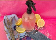 Produit nettoyant naturel pour la salle de bain (fait maison)