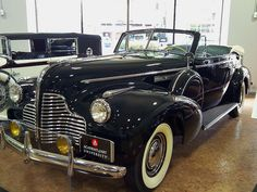 1940 Buick Limited Convertible Phaeton, Academy of Art Automobile Collection, San Francisco | Flickr - Photo Sharing!