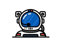 Astronaut by Grant Fisher - Dribbble