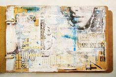 art journal page by Czekoczyna #mixed_media