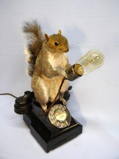 """"""" Squirrel Desk lamp """""""