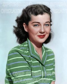 GAIL RUSSELL IN GREEN CASUAL SHIRT 8X10 BEAUTIFUL COLOR PHOTO BY CHIP SPRINGER . Please visit my Ebay Store at http://stores.ebay.com/x5dr/_i.html?rt=nc&LH_BIN=1 to see the current listings of your favorite Stars now in glorious color! Message me if you would like me to relist your favorites. Check out my New Youtube videos at https://www.youtube.com/channel/UCyX926rA5x4seARq5WC8_0w