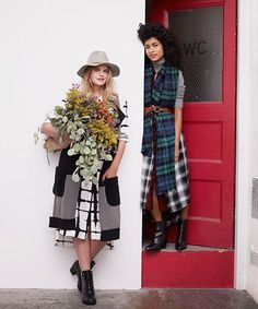 How To Wear Plaid - Fall Outfit Ideas | Check out our lookbook with Target for plaid styling tips and off-duty fall outfit ideas. #refinery29 http://www.refinery29.com/how-to-wear-plaid-this-fall
