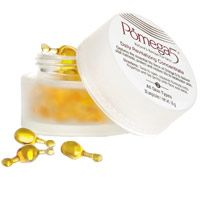 Pomega5 Daily Revitalizing Concentrate contains over 60% of this antioxidant-laden ingredient, along with Calendula, Rosehip, and Jojoba Oils to deliver vital nutrients, protect and restore life to lackluster skin. Use twice daily after cleansing and toning. Twist to open, gently squeeze contents onto fingertips, and apply to face and neck using light tapping motions. Allow skin to gradually absorb the revitalizing formula. Follow with your favorite Pomega5 moisturizer.