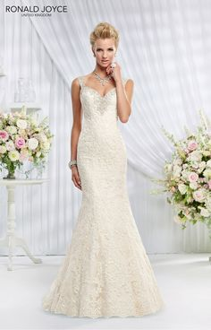The Spring 2015 collection from Ronald Joyce is here!  #weddingdress #bridalwear #bridal 69003 from Ronald Joyce