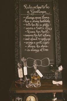Black and White Wedding Inspiration from Atrendy Wedding - Southern Weddings Magazine