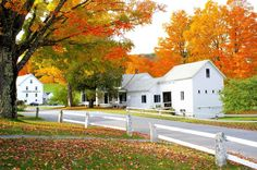 The Calvin Coolidge Homestead in Plymouth Notch, Vermont, is captured perfectly by Vermont Four Seasons Photography.