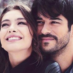 Image about kara sevda in love ❤ by Heba Malkawi Best Tv Couples, Movie Couples, Couples Images, Cute Couples Goals, Best Couple, Couple Goals, Hot Couples, Cute Love Pictures, Couple Pictures