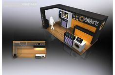 If your needs require a custom designed and built trade show booth and trade show displays, EXHIBITMAX is the best exhibit rental company! Trade Show Giveaways, Exhibition Stall, Show Booth, Booth Design, Custom Design, Stalls, Kiosk, Display, Inspiration