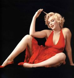Marilyn Monroe, one of the biggest sex symbols of all time was def not a size 0!