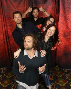 NJCon2013 --Photo Ops were very inventive at #NJCon2013 (credit Cristina Giammarco, to the right of Jared)