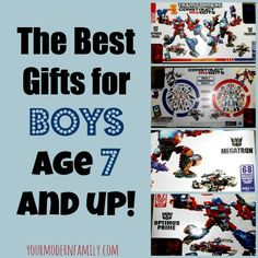 Best gifts for boys 7 and up  #ConstructBots