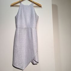 Shimmer TopShop Asymmetrical Cocktail Dress Shimmer TopShop Asymmetrical Cocktail Dress. US Size 4. Gently Used. Good Condition. Topshop Dresses Mini
