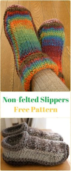 Free Pattern Friday Simple House Slippers Again Slippers N