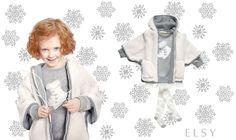 Un'idea originale per l'inverno #Abbigliamentobambina, #vestitibambina, #childrenswear #kidswear, abiti cerimonia bambini, #vestitinobambina #cerimonia #cerimoniabimbi#abbigliamentowww.elsyspa.com/...