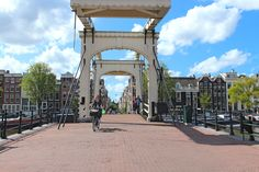 Continue walking south along the canal's west side and you'll soon reach a fascinating bridge between Keizersgracht and Prinsengracht, the Magere Brug. This is one of Amsterdam's most famous bridges, and one of the most lovely I might add .