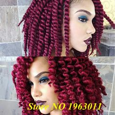 """Janet Collection Havana Mambo Twist 12"""" #2 Dark Brown Crochet Mambo havana JAMBO braid twist(3PACKS)"""