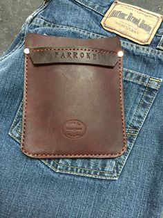 Customize your Leather Pocket Protector for pants lab by Manypawz