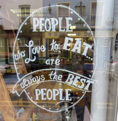 People who love to eat are always the best people. Spotted in West Cork, Ireland.