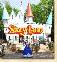 Storyland in Glen, New Hampshire.  This place is a MUST for anyone with young children in the New England area!