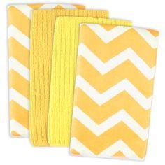 Grey Chevron Microfiber Dishtowel (Set of (Chevron Yellow - Set of Blend) Dish Towels, Hand Towels, Tea Towels, Yellow Chevron, Color Yellow, Aqua, Shelf Liners, Hand Towel Sets, Clean Microfiber