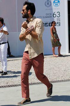 Pitti Uomo 84 Florencia SS 2014 Streetwear Moda en la calle