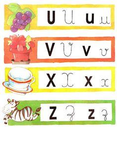 Estas fichas coloridas são ótimas para montar jogos com a turma! Por exemplo, embaralham-se as fichas e cada criança retira uma. Ela pode fa... Letters And Numbers, Classroom Activities, Back To School, Alphabet, Writing, Education, Reading, Yorkshire, Nova