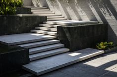 Gallery of Louvers House / MIA Design Studio - 17 Stairs And Staircase, Entry Stairs, Exterior Stairs, Staircase Design, Landscape Stairs, Landscape Architecture, Landscape Design, Garden Design, Outdoor Steps