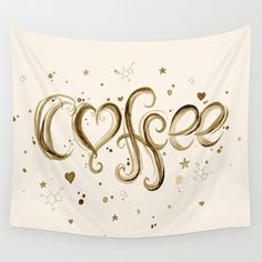 Coffee by Olechka #coffee #tapestries