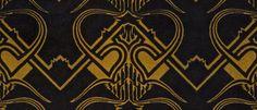 <p>Ornamental Patterns | Amsterdam School Mohair Velvets</p>