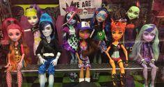 Monster High classroom