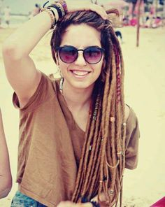 Cute dreads